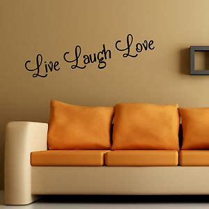 5 out of 5 stars (3,524) $ 18.00. Live Laugh Love Wall Art Sticker Home Bedroom Living Room Quote Vinyl Decal | eBay
