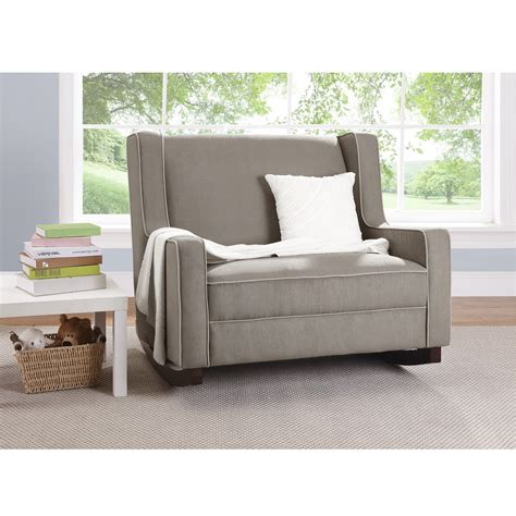 dorel asia baby relax hadley rocker taupe