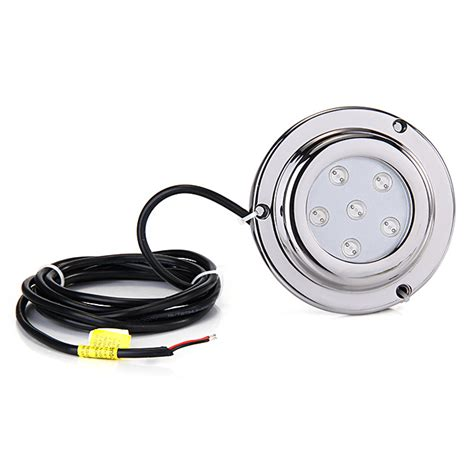 Surface Mount Underwater Boat Lights by 6x1w Ip68 Waterproof Led Light Underwater Surface Mount