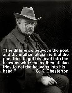 C K Chesterton ... Gk Chesterton Food Quotes