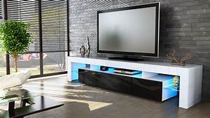 Fernsehtisch Weiß Hochglanz : tv lowboard board schrank fernsehtisch lima v2 in wei hochglanz naturt ne ebay ~ Yasmunasinghe.com Haus und Dekorationen