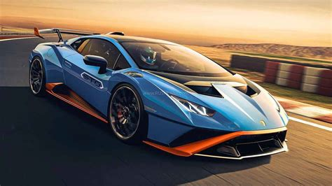 Lamborghini Huracan STO Breaks Cover - 0 To 100 Kph In 3 ...