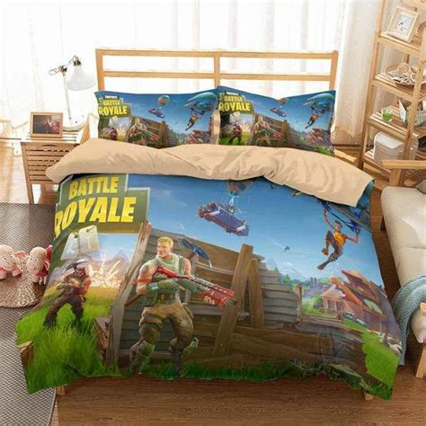 customize fortnite bedding set duvet cover set bedroom