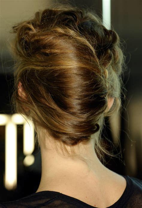 french twist chignon hairstyle women hairstyles