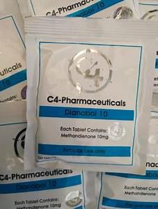 Buy C4 Pharma Dianabol 10mg Tablets Online