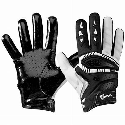 Gloves Football Cutters Gamer Youth American Receiver