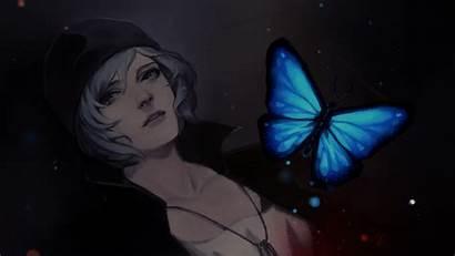 Strange Chloe Butterfly Artwork Wallpapers Desktop Anime