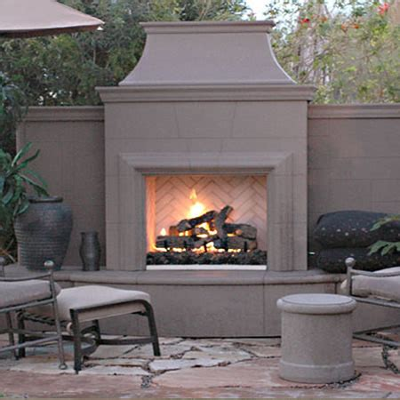 vent free outdoor fireplace american fyre designs grand cordova vent free