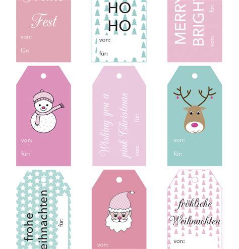geschenkanhänger weihnachten ausdrucken free printable friday geschenkanh 228 nger zum ausdrucken rosanisiert