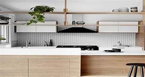 Adhesif Credence Cuisine : 8 cr dences pour dynamiser la d co de la cuisine deco cool ~ Melissatoandfro.com Idées de Décoration