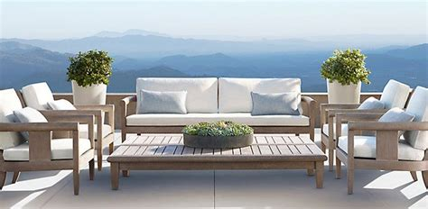 Exterior Furniture by Coronado Weathered Grey Teak Outdoor Furniture Cg