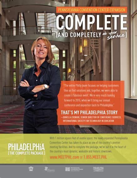 philadelphia convention visitors bureau on behance