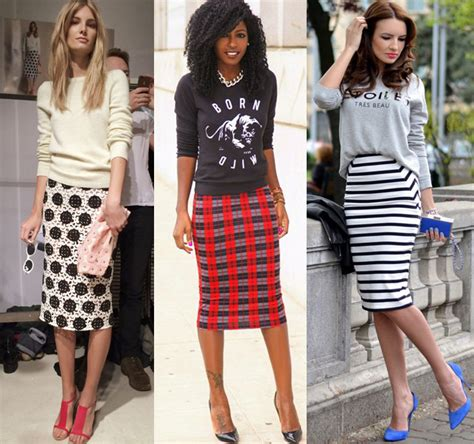 How to Wear a Pencil Skirt Casually? 24 Cute Outfits u0026 Style Ideas   Fashion Rules