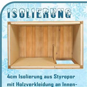 Windfang Selber Bauen : xxl hundeh tte isoliert mit windfang 150 x 95 x 103 cm ebay ~ Whattoseeinmadrid.com Haus und Dekorationen