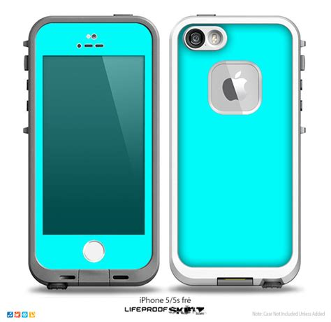 iphone 5s lifeproof cases the solid turquoise skin for the iphone 5 5s frē lifeproof