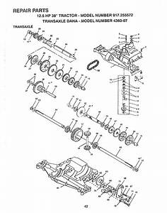 Craftsman 917255572 User Manual Lawn  Tractor Manuals And