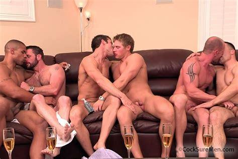 Cocksure Men Orgy From Cocksure Men At Justusboys