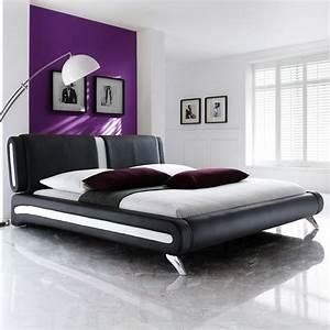 Bett 180x200 Komplett : polsterbett komplett malin bett 180x200 schwarz lattenrost matratze wohnbereiche ~ Frokenaadalensverden.com Haus und Dekorationen