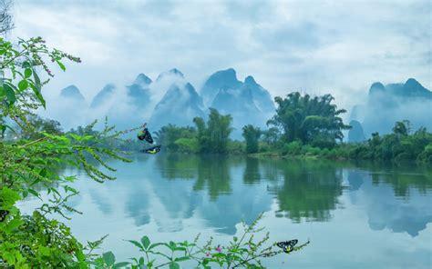诗意清新山水壁纸_充满美好诗意的风景_风景壁纸_精品库