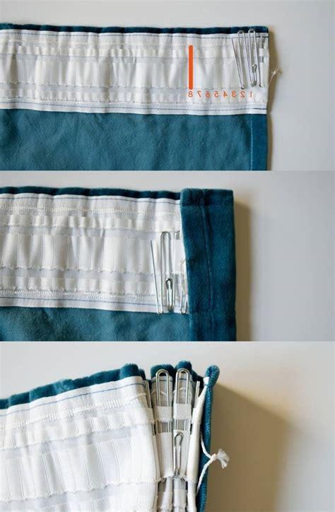 gardinen selber nähen faltenband gardinen n 228 hen kreative ideen f 252 r anf 228 nger