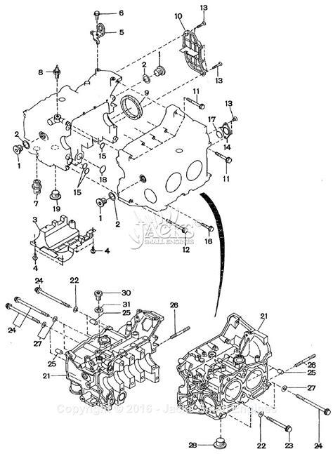 Robin Subaru Parts Diagram For Cylinder Block