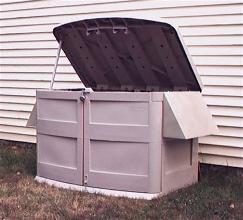 Storage Shed For Portable Generator by Powershelter Kit