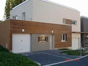 Bardage Exterieur Pvc : bardage maison pvc cool bardage pvc duune maison de with ~ Premium-room.com Idées de Décoration