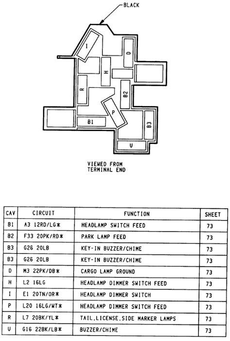 dodge headlight switch wiring diagram 1994 dodge dakota headlight wiring diagram fuse box and