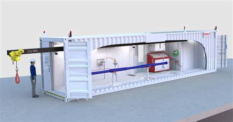 under pump system containerized pressure test bay resato