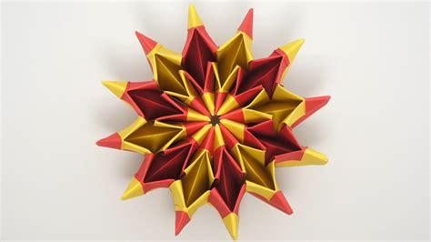 How Fold Cool Origami Yami Yamauchi Fireworks Step