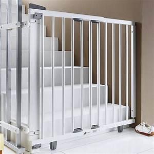 Barriere De Securite Escalier Castorama : geuther schwenk treppenschutzgitter treppen schutz ~ Dailycaller-alerts.com Idées de Décoration