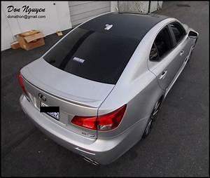 Bac A Vinyl : lexus isf sedan matte carbon fiber roof vinyl car wrap wannaberacer wraps ~ Teatrodelosmanantiales.com Idées de Décoration