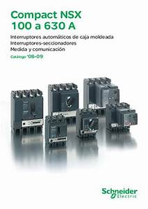 Schneider Electric Catálogo Interruptores Caja Moldeada