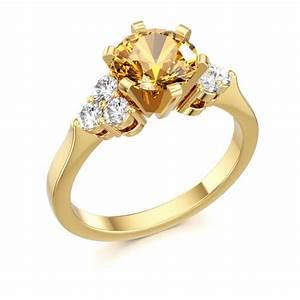 citrine engagement ring citrine jewelry pinterest With citrine wedding ring
