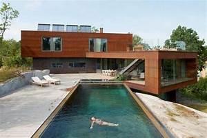 Living Material Modern Homes   Dapstockholm Villa Midgard