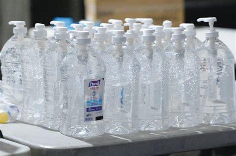 PET Dispenser Pump Empty Hand Sanitizer Bottle, Use For