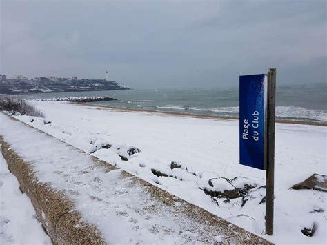plage de la chambre d amour neige le tour du pays basque en images sud ouest fr