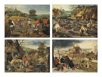 pieter brueghel ii brussels    antwerp   seasons spring summer autumn