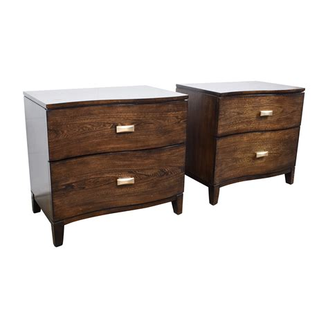 Curved Nightstand by 87 Raymour And Flanigan Raymour Flanigan Curved