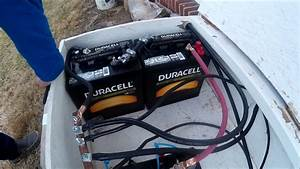 Ote Installing 2 Duracell 6v 215a  20hr Golf Cart
