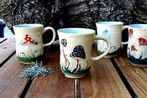 Unique Coffee mugs Ceramic mugs mushroom coffee mug set