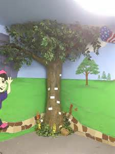 paper mache tree preschool ideas furniture classroom our the kid and