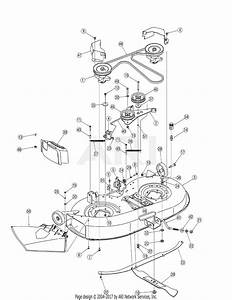 Mtd 13an772g729  2007  Parts Diagram For Deck Assembly 42 Inch