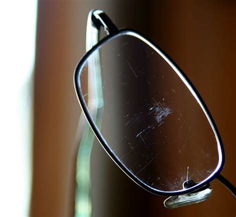 Can You Get Rid Of Scratches On Eye Glasses?