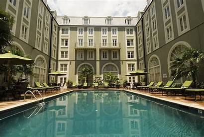 Orleans Bourbon Hotel Quarter French Hotels Pool