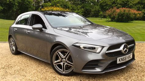 There aren't too many premium family hatchbacks on the market right now. Used Mercedes-Benz A-Class A200 AMG Line Premium Plus 5dr Auto Petrol Hatchback for Sale | Vertu ...