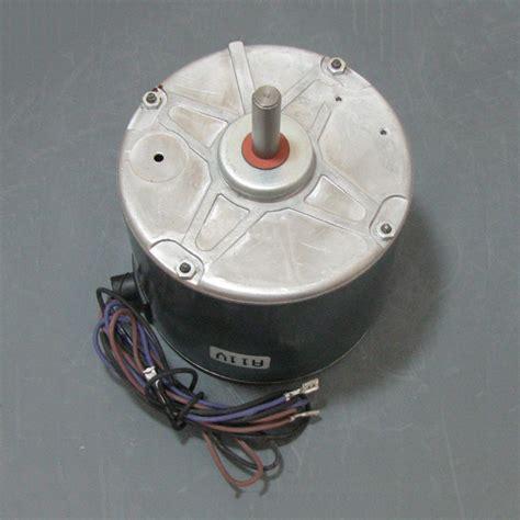 trane condenser fan motor replacement trane condenser fan motor mot17917 mot17917 220 00