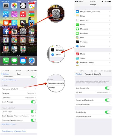 how to access keychain on iphone how to view your saved passwords and credit card numbers