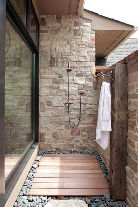 outdoor showers   dreams  macnabs team