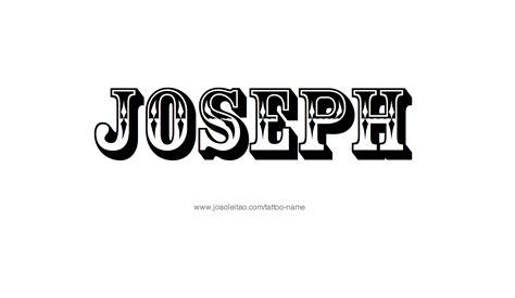 joseph  tattoo designs